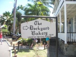 Nelson Dockyard Bakery